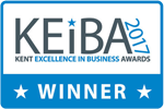 KEIBA Winner 2017 - Kent Excellence in Business Awards